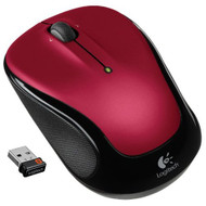 Logitech Wireless Mouse M325 With Designed-For-Web Scrolling Red - ZZ665605