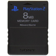 8MB Memory Card For PS2 - ZZ665789