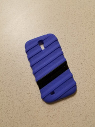 Generic Purple And Black Samsung Galaxy S4 Cover Case Multi-Color - DD666503