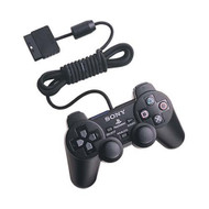 Sony OEM PlayStation 2 Dual Shock Controller Black - ZZ666574