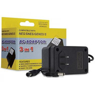 SNES / NES / Genesis 1 3-IN-1 Universal AC Adapter - ZZ666602