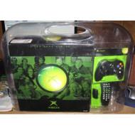 Microsoft Xbox System Bundle W/ 2 Controllers & DVD Remote - ZZ666623