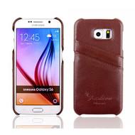 Galaxy S6 Case Nvwa Samsung Galaxy S6 Case Premium Genuine Leather - DD666759