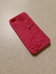 Target Brands iPhone 5 5S SE 5 SE Raised Flower Case Cover Pink Fitted - DD666766