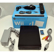 Nintendo Wii Black Video Game Console Home System - ZZ666847