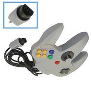 Long Game Handle Controller For Nintendo 64 Grey - ZZ666898