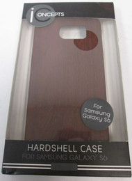 iPhone 5 5S SE Slim Snap Case Wood Look Cover Brown Fitted WOD-C5-S6 - EE667047