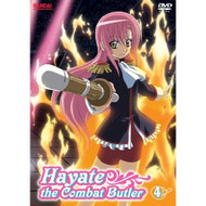 Hayate The Combat Butler Part 4 On DVD With Ryoko Shiraishi Anime - EE667479