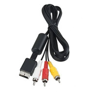 6FT AV TV Audio/video Composite Cable For Sony PlayStation PS1 PS2 PS3 - ZZ667637