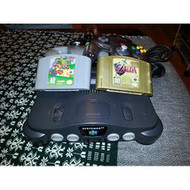 N64 System W/ Expansion Hookups 2 Controllers Super Mario And Zelda - ZZ667985