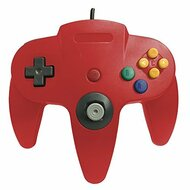 Classic Wired Controller Joystick For Nintendo 64 N64 Game System Red - ZZ667986