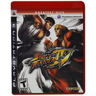 Street Fighter IV For PlayStation 3 PS3 Fighting With Manual and Case - EE668976