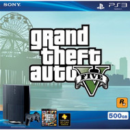 Sony PS3 500 GB Grand Theft Auto V Bundle Super Slim Console - ZZ669688
