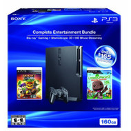 PlayStation 3 160GB Entertainment Bundle W/ PlayStation Move Bundle - ZZ670265