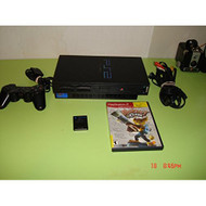 PS2 Phat Console Black W/1 Game - ZZ670227