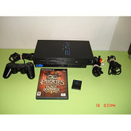 PS2 Phat Console Black W/1 Game - ZZ670229
