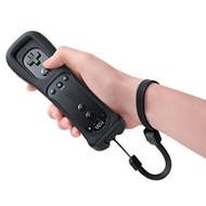 Nintendo OEM Wii Remote Motion Plus Black By Nintendo - ZZ670569