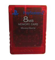 Sony OEM PS2 Memory Card Red 8MB - ZZ670635