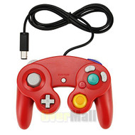 New Controller For Nintendo GameCube GC Wii Red US - ZZ670661