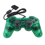 PS2 Wired Controller For Sony PlayStation 2 Green - ZZ670801