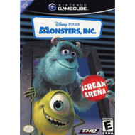 Monsters Inc Scream Arena For GameCube With Manual and Case - EE671325