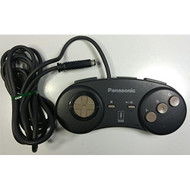 3DO FZ-JP1X For 3DO Vintage Black Controller  - EE671550