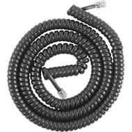 Powergear 76139 Coil Cord 25 Feet Black Telephone - EE671569