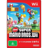 New Super Mario Brothers For Nintendo Wii - ZZ671762