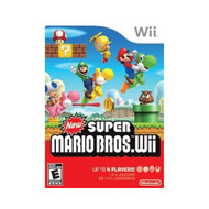 Quality New Super Mario Bros Wii By Nintendo With Manual and Case - ZZ671769