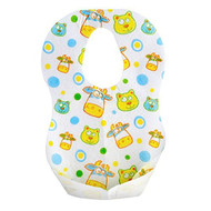 """Munchkin 41501 13.5"""" X 9"""" Fish Style Disposable Bibs 24 Pack Multi - EE671864"""