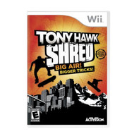 Tony Hawk: Shred Stand-Alone Software For Wii With Manual And Case - EE671965