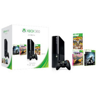 Microsoft Xbox 360 E 250GB Spring Value Bundle With 3 Games - ZZ672042