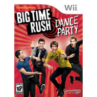 Big Time Rush: Dance Party For Wii With Manual and Case - EE672091