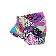 Gem Sports Jungle Safari Spandex Volleyball Shorts Size: Medium - EE672125