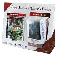 Uncharted: Drake's Fortune And Dualshock 3 Bundle PlayStation 3 - ZZ672151
