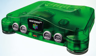 Nintendo 64 System Video Game Console Jungle Green - EE672174