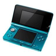 Nintendo 3DS Aqua Blue Handheld Console - ZZ672179