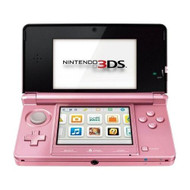 Nintendo 3DS Pearl Pink Handheld System - ZZ672258