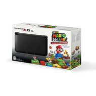 Black Nintendo 3DS XL With Super Mario 3D Land Game - ZZ672265