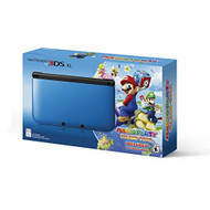 Nintendo 3DS XL Blue/black Limited Edition With Mario Party: Island - ZZ672484
