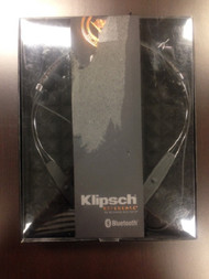 Klipsch R6 In-Ear Bluetooth Neckband Earphones Black Headphones - EE672535