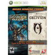 Bioshock & The Elder Scrolls: Oblivion Bundle Bundle For Xbox 360 - EE672748