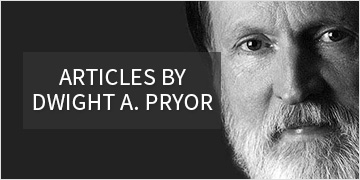 Articles by Dwight A. Pryor