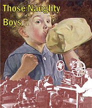 Those Naughty Boys DVD