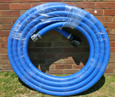 "10m length of 50mm Australian Made blue ""Nitrile"" flexible suction hose"