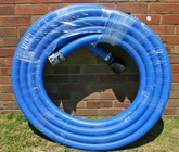 "20m length of 50mm Australian Made blue ""Nitrile"" flexible suction hose"