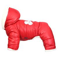 Lovely Bone Padded Bodysuit For Boys Red