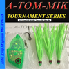 """017-King/A-TOM-MIK """"UV Green"""" Meat Rig"""
