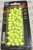 A-TOM-MIK Chartreuse 8mm Beads 100ct
