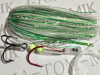 L202 Green Crinkle Glow Live